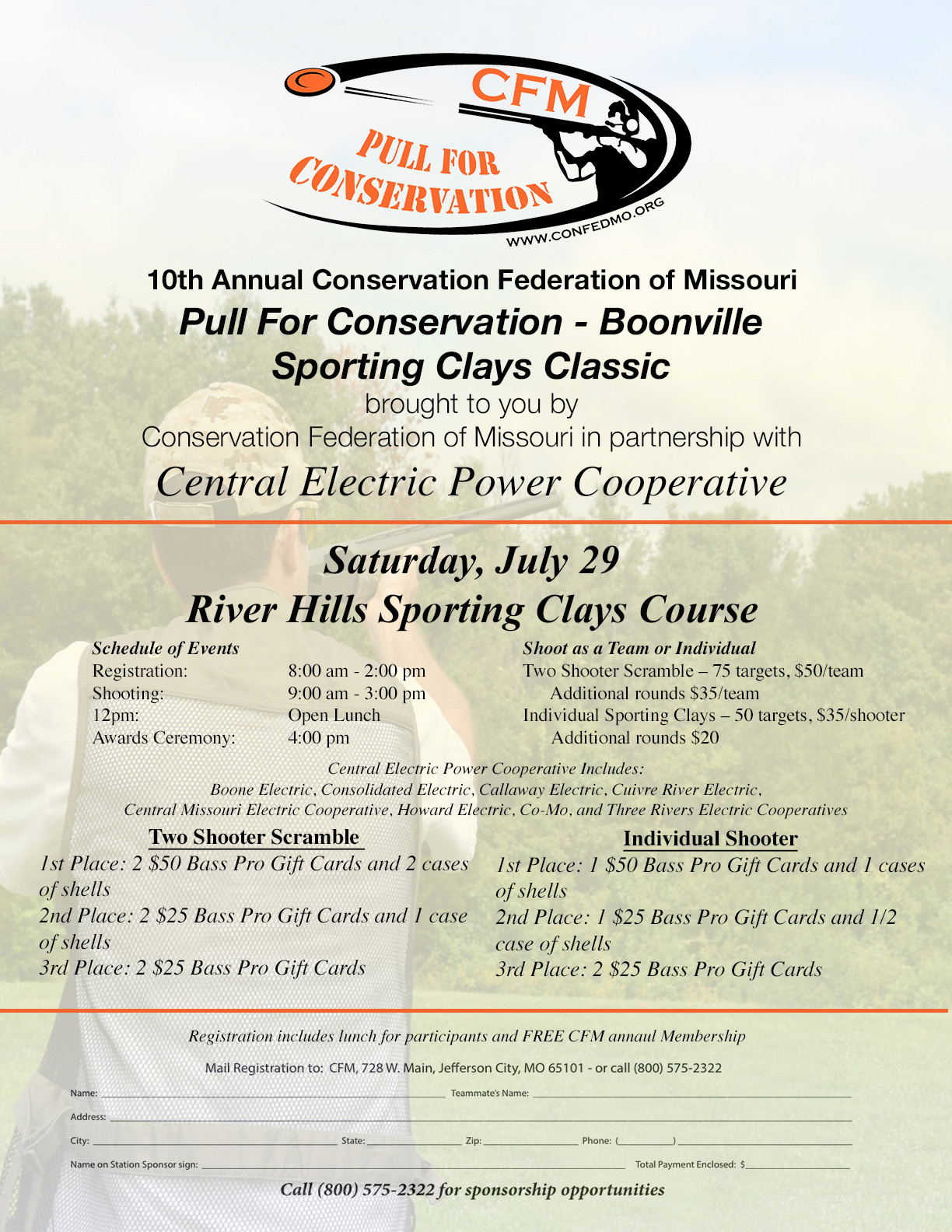 2016 Pull for Conservation Advertisement