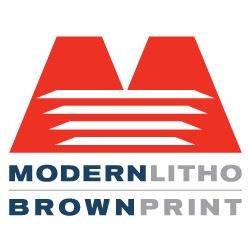 Brown Printing Logo