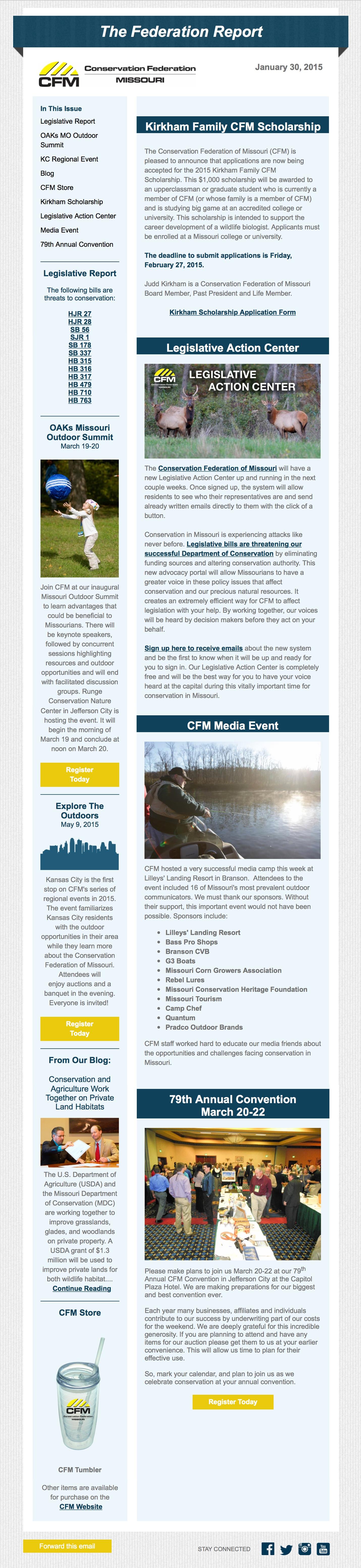 Newsletter Jan. 30