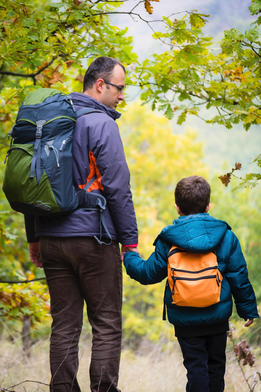 Autumn Family Hiking Kansas City