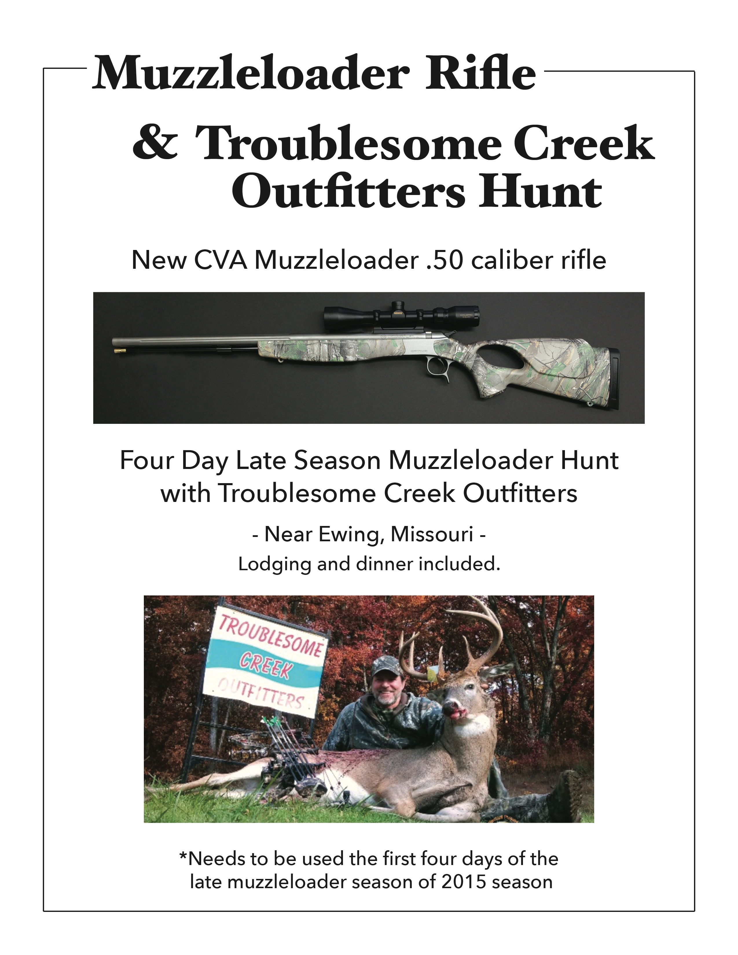 Muzzleloader Hunt
