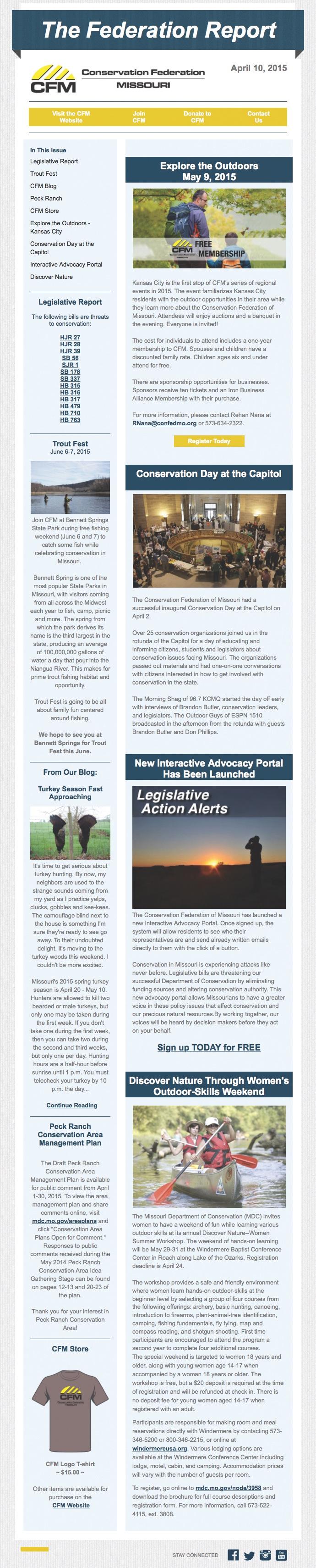 April 10 Newsletter