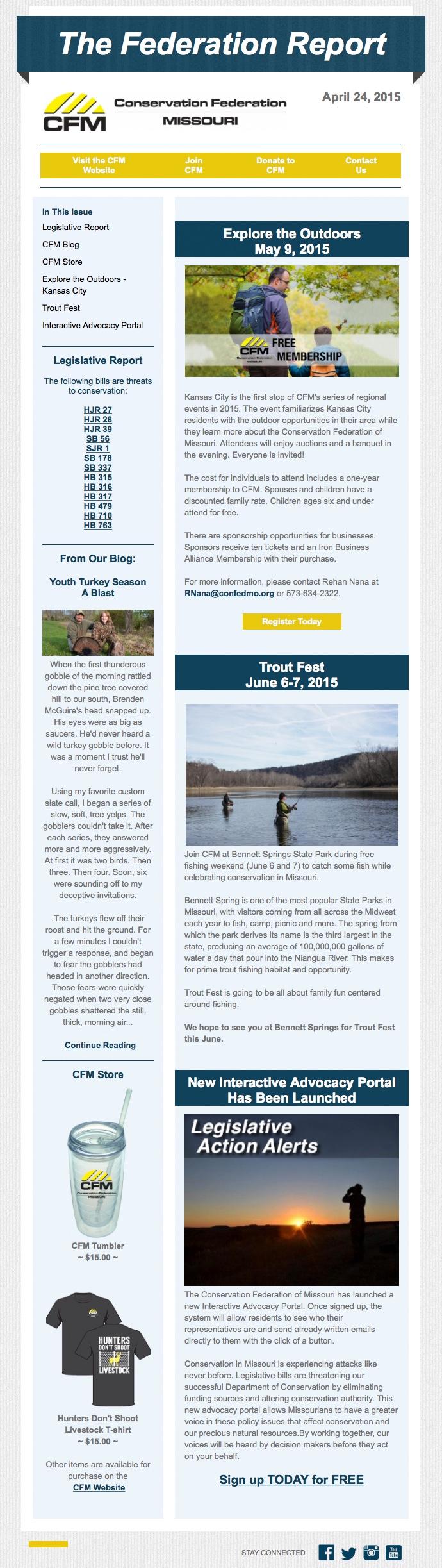 April 24 Newsletter