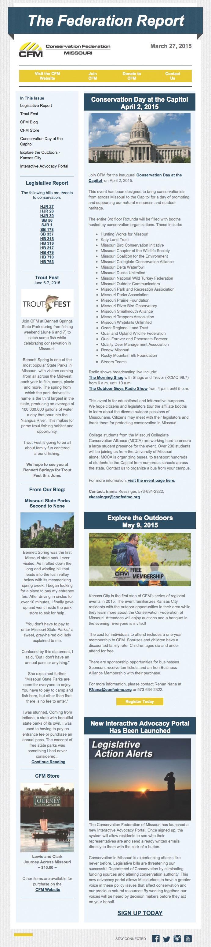 March 27 Newsletter